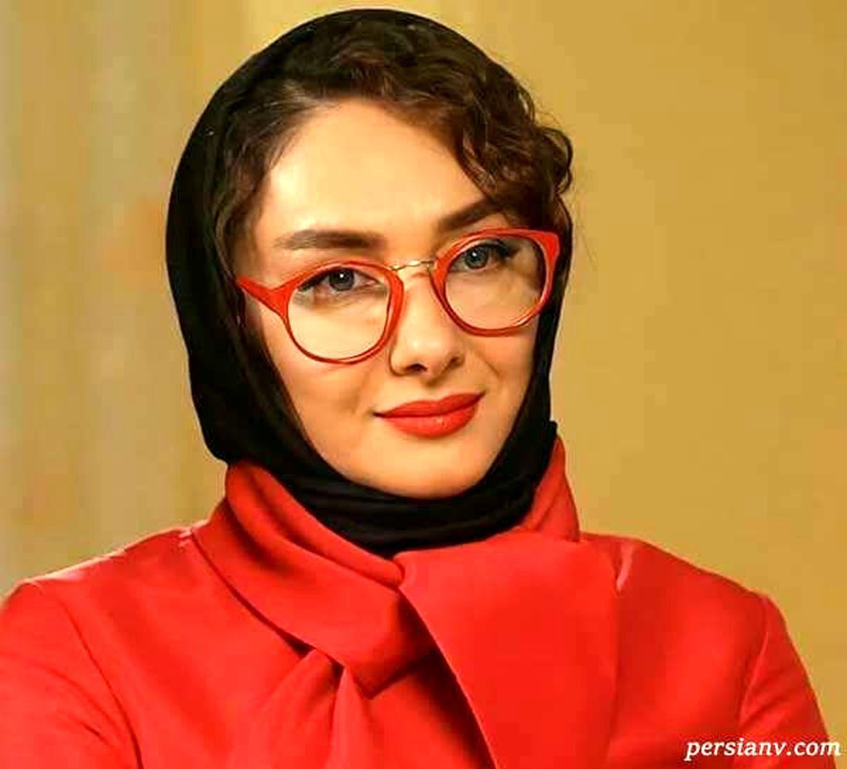 ابراز علاقه هانیه توسلی به آقای بازیگر جلوی دوربین