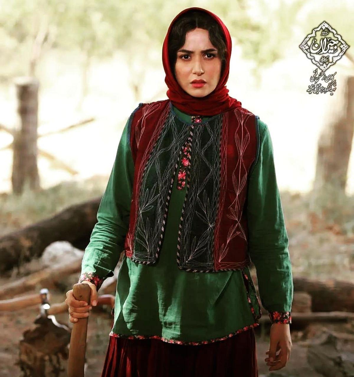 عکسهایی از پشت صحنه سریال جیران