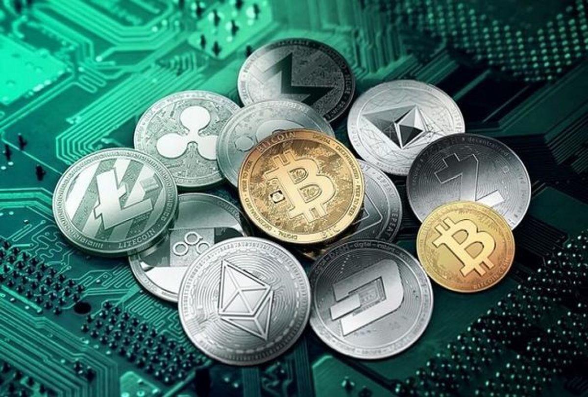 ارزهای دیجیتالی کاهشی شدند / جزئیات قیمت ارزهای دیجیتال